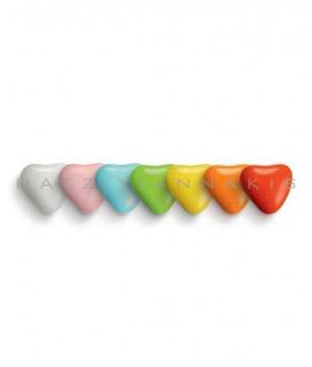 Καρδιά Σοκολάτας Πολύχρωμο
