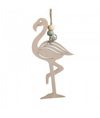 Μπομπονιέρα Βάπτισης Κρεμαστό Flamingo 16112