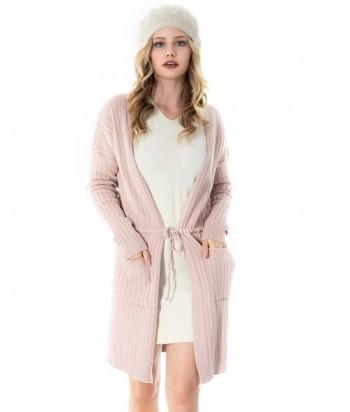 Ζακέτα γυναικεία Ροζ Doca 38561