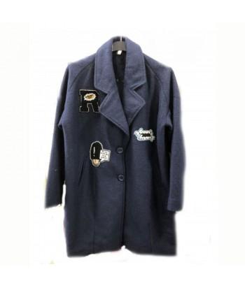 Παλτό γυναικείο Μπλε Fantazy 9660