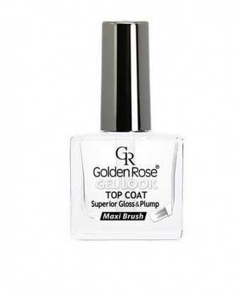 Gel Look - Top Coat Golden Rose