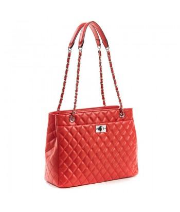 Τσάντα Ώμου Verde 5489-5 Κόκκινο