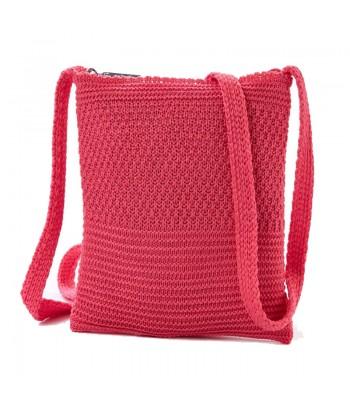Τσάντα Χιαστί Verde 16-5213 Ροζ