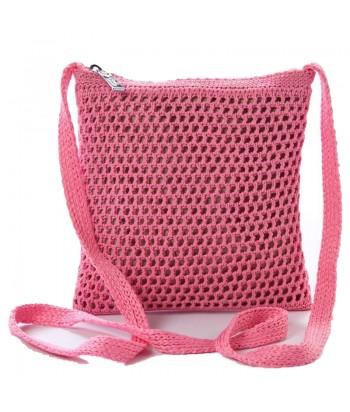 Τσάντα Χιαστί Verde 16-5214 Ροζ