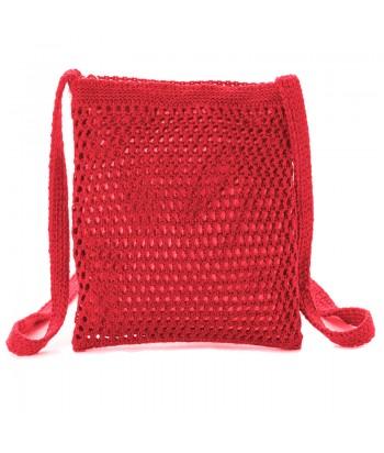 Τσάντα Χιαστί Verde 16-5214 Κόκκινο