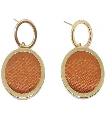 Σκουλαρίκια Πορτοκαλί Fantazy 80000589
