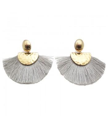 Σκουλαρίκια Με Φούντα Fantazy 01495-91