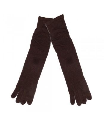 Γάντια γυναικεία Καφέ Verde 0257-4