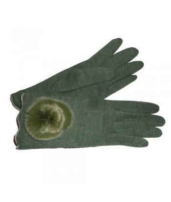 Γάντια Γυναίκεια Πράσινα Verde 0258-2