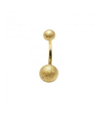 Σκουλαρίκι Αφαλού Χρυσό Fantazy 15334-2