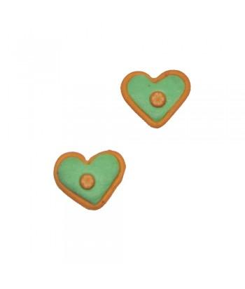 Σκουλαρίκι Παιδικό Καρδιά Πράσινο 70628-3