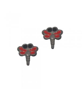 Σκουλαρίκι Παιδικό Κουνούπι Κόκκινο 70628-11
