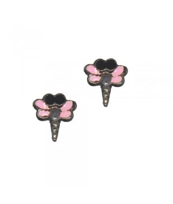 Σκουλαρίκι Παιδικό Κουνούπι Ροζ 70628-12