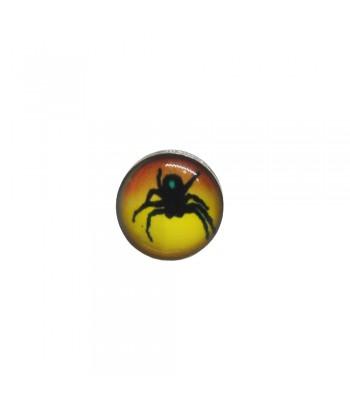 Σκουλαρίκι Τάπα Κίτρινο 8mm Fantazy 02052-11