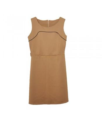 Φόρεμα Μπεζ Fullah sugah 221023
