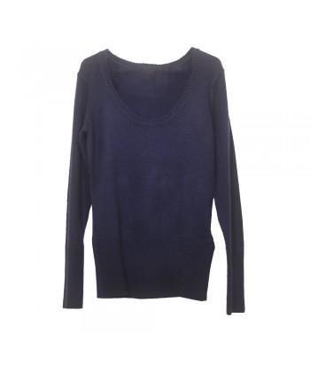 Μπλούζα Πλεκτή Μπλε Fantazy 85655-1