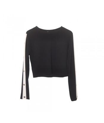 Μπλούζα μαύρη Fantazy 56966-1