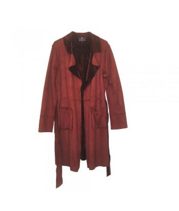 Παλτό Διπλής Όψης Μπορντό Fantazy 9181-1