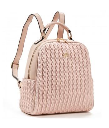 Τσάντα Πλάτης Verde 16-5853 Ροζ