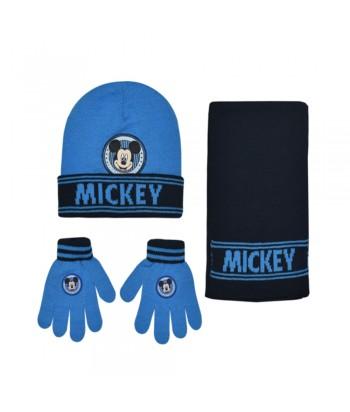 Σετ Σκουφί-Κασκόλ-Γάντια Mickey Mouse 11307