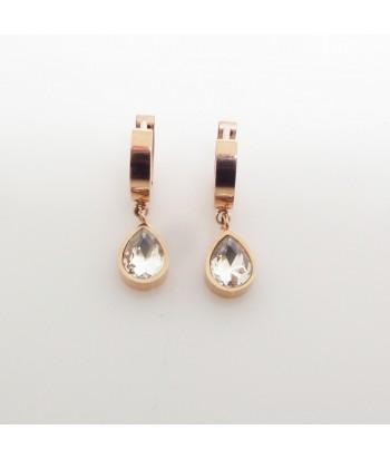 Σκουλαρίκια Με Πετρά Fantazy 01495-124