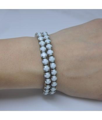 Γυναικείο Βραχιόλι Με Πέτρες Μπλε 58632-4