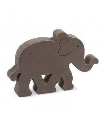 Μπομπονιέρα Βάπτισης Διακοσμητικό Ελέφαντας