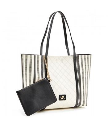 Τσάντα Ώμου Verde 16-5995 Μαύρο