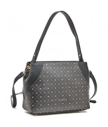 Τσάντα Ώμου Verde 16-6010 Μαύρο