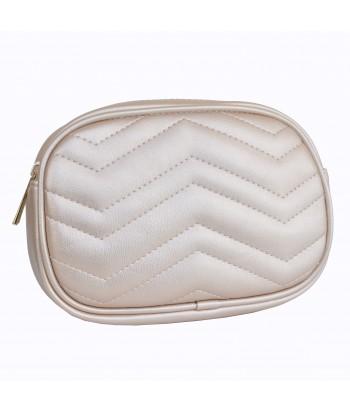 Τσάντα Μέσης/Χιαστί 8756-8 Χρυσό