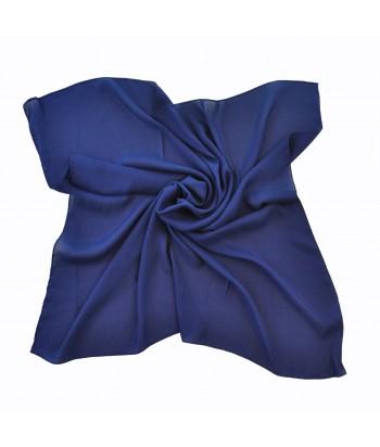 Γυναικείο Τετράγωνο Μαντήλι 50060-8 Μπλε