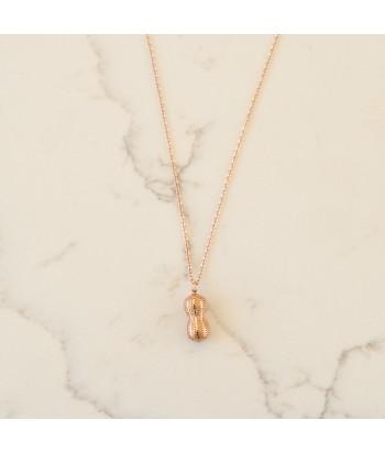 Κολιέ Αλυσίδα Ατσάλι Με Σχέδιο 01492-287 Rose Gold