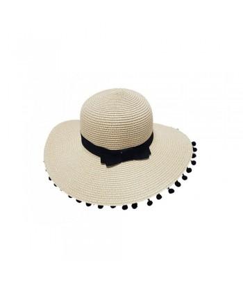 Καπέλο Γυναικείο Ψάθινο 01-1612 Μπεζ
