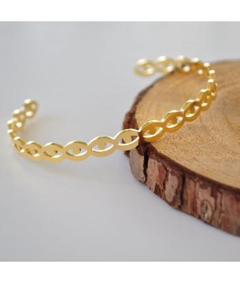 Βραχιόλι Ατσάλι Xειροπέδα 98755-86 Χρυσό