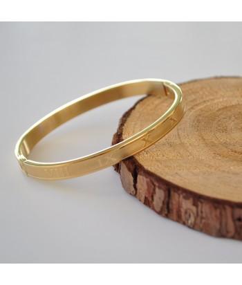 Βραχιόλι Ατσάλι Xειροπέδα 98755-90 Χρυσό