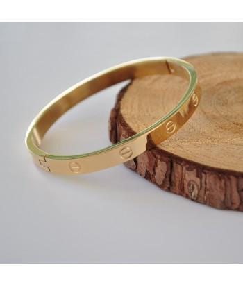 Βραχιόλι Ατσάλι Xειροπέδα 98755-91 Χρυσό