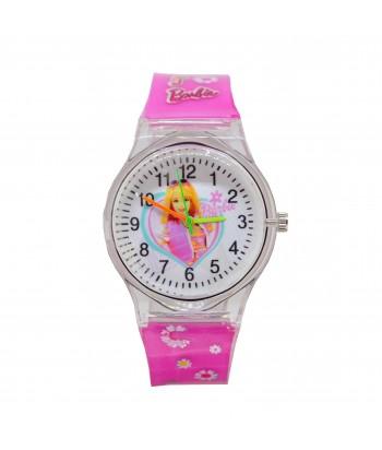 Παιδικό Ρολόι Με Σχέδιο Barbie 32022-14 Ροζ