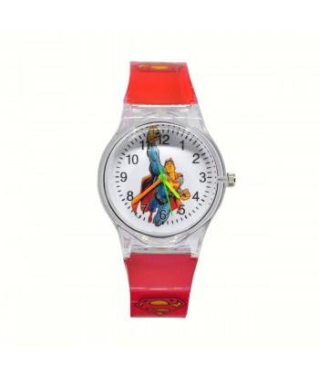 Παιδικό Ρολόι Με Σχέδιο Superman 32022-23 Κόκκινο