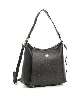 Τσάντα Ώμου Verde 16-6076 Μαύρο