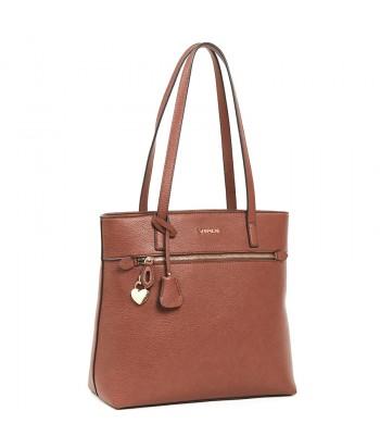 Τσάντα Ώμου Verde 16-6106 Camel