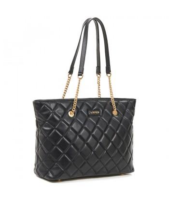 Τσάντα Ώμου Verde 16-6146 Μαύρο