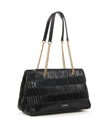 Τσάντα Ώμου Verde 16-6084 Μαύρο
