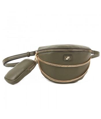 Τσάντα Μέσης/Στήθους Verde 16-6129 Khaki