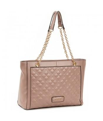 Τσάντα Ώμου Verde 16-6189 Dasty Pink