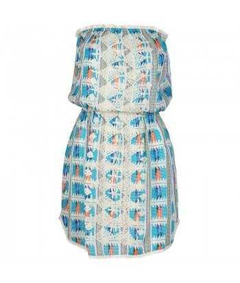 Φόρεμα Κοντό Strapless 76365