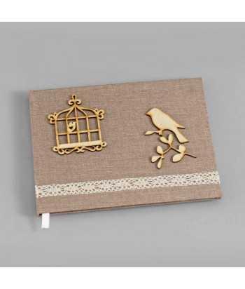 Βιβλίο Ευχών Γάμου Πουλάκια 0571.17831
