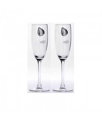 Ποτήρια σαμπάνιας γυάλινα Zivas 12581