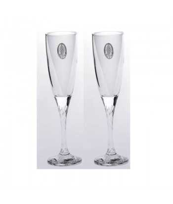 Ποτήρια σαμπάνιας γυάλινα Zivas 12642