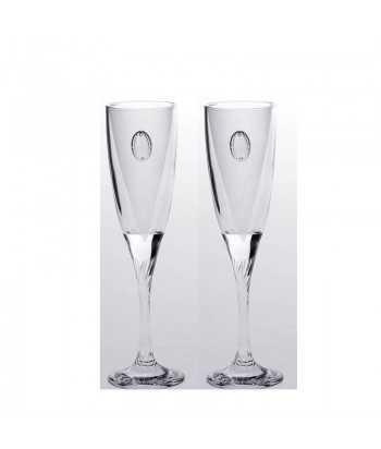 Ποτήρια σαμπάνιας γυάλινα Zivas 12652